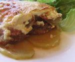 Мясо по французски — рецепт с картофелем и помидорами