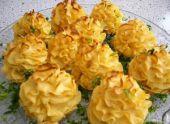 Рецепт запеченного картофеля «Розочка»