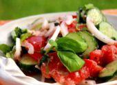 Овощные салаты очень вкусный рецепт