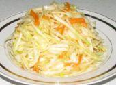 Салат со свежей капусты
