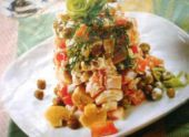 Салат с курицей и шампиньонами — рецепт на заметку