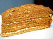 Медовый торт или торт медовик
