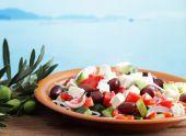 Вкуснейший греческий салат и курица с ананасом и сладким перцем