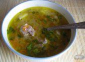 Мастер-класс по приготовлению супа с фрикадельками и бобовыми
