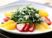 Экзотический зимний салат