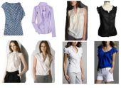 Правильный набор блузок