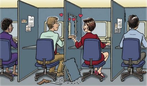 любовь на работе