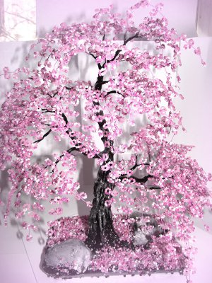 Автор: Admin Дата: 31.10.2013 Описание: Сакура из бисера - схема плетения - Все для женщин.  Главная.