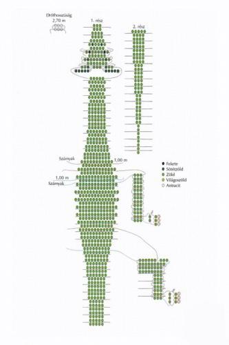 зеленого дракона из бисера