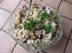 Вкусный постный салат. Рецепт