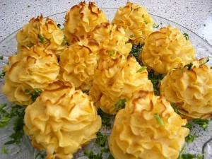Запеченный картофель «Розочка»