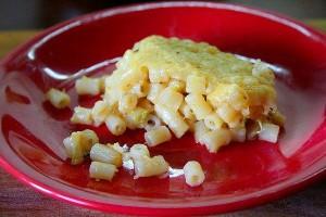 Макароны, запеченные с кабачками и сыром. Рецепт