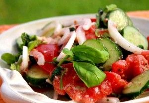 Овощной салат. Рецепт