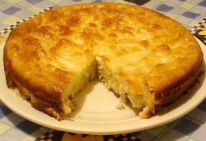 Пирог «Шарлотка с яблоками». Рецепт