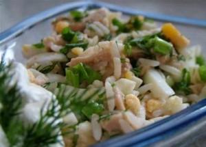 Салат из тресковой печени. Рецепт