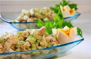 Рецепт салата с сельдереем