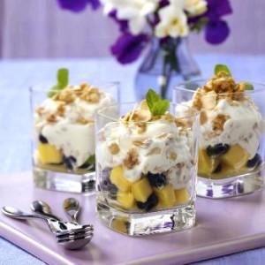 Фруктовый салат с йогуртом очень вкусный рецепт
