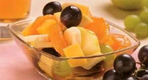 Вкусный фруктовый салат на 8 марта. Рецепт