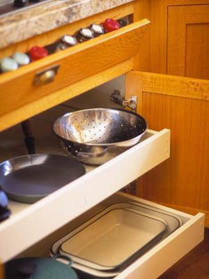 кухонная фурнитура для экономии времени