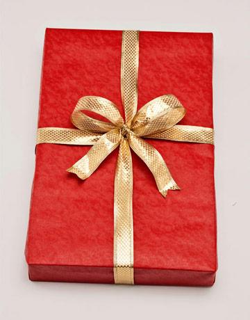 как завернуть подарок