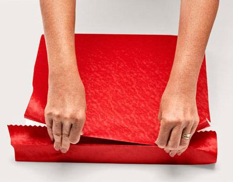 пошаговая инструкция упаковки подарка
