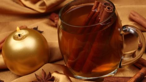 украшение напитков на новый год