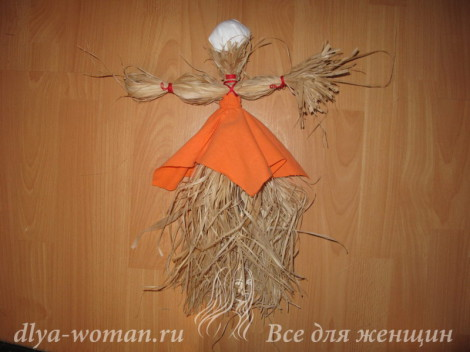 кукла на масленицу своими руками