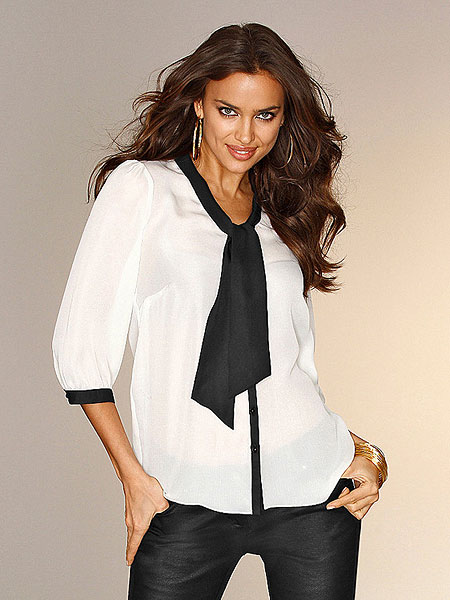 классические женские блузки