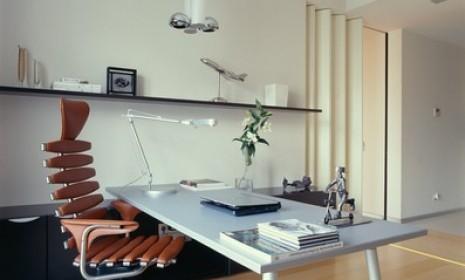 обустройство кабинета дома