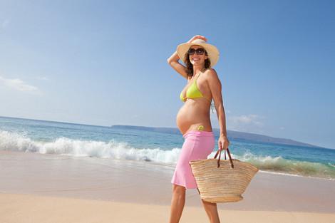 купаться беременным можно