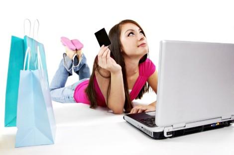 онлайн шоппинг помогает мамочкам экономить
