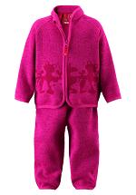 Теплый комплект для самых маленьких модниц